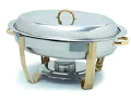 Rental store for CHAFER 6 QT OVAL w GOLD KNOB in Ft. Wayne IN