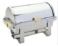 Rental store for CHAFER 8 QT ROLLTOP STAINLESS w BRASS HD in Ft. Wayne IN