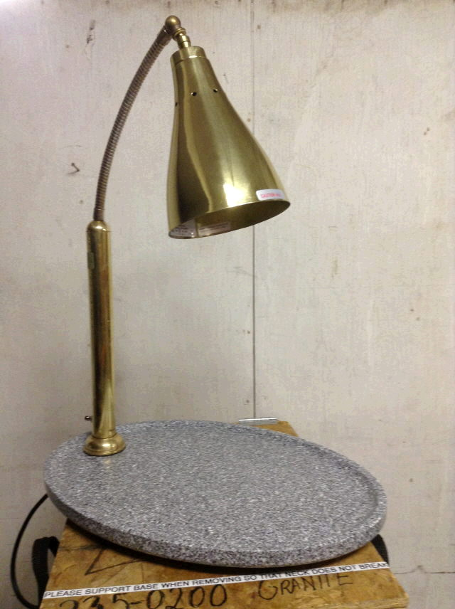 Where to find HEAT LAMP BRASS - GRANITE in Ft. Wayne