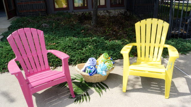 Where to find ADIRONDACK MULTI COLOR CHAIR in Ft. Wayne