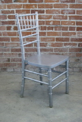 Rental store for CHAIR CHIVARI SILVER in Ft. Wayne IN