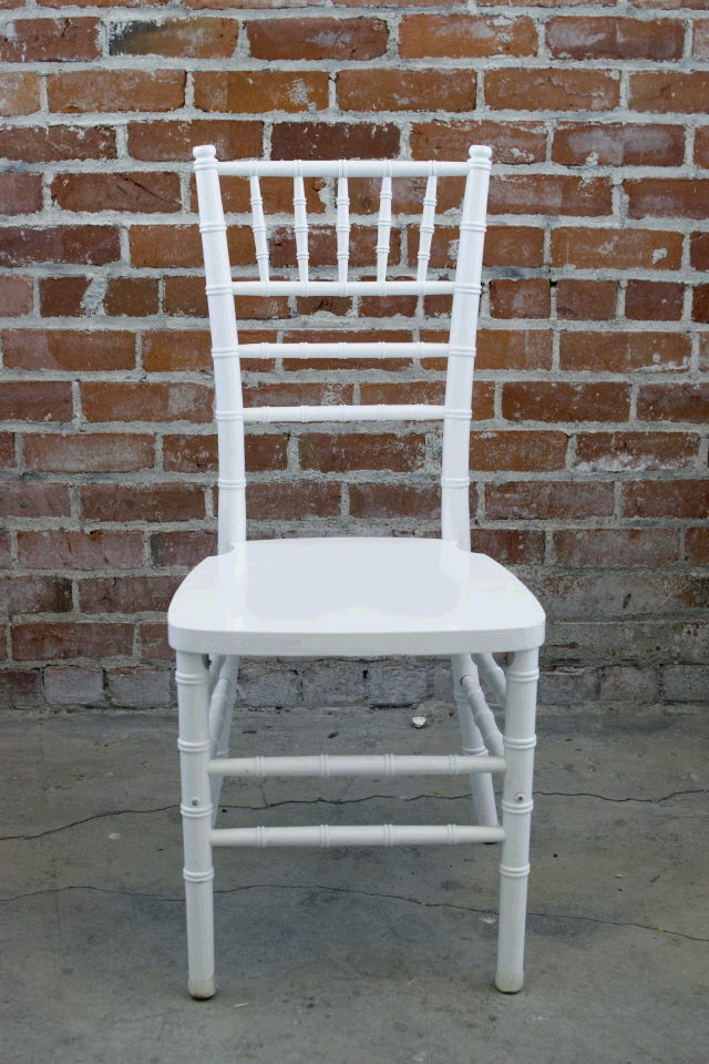 Where to find CHAIR CHIVARI WHITE in Ft. Wayne