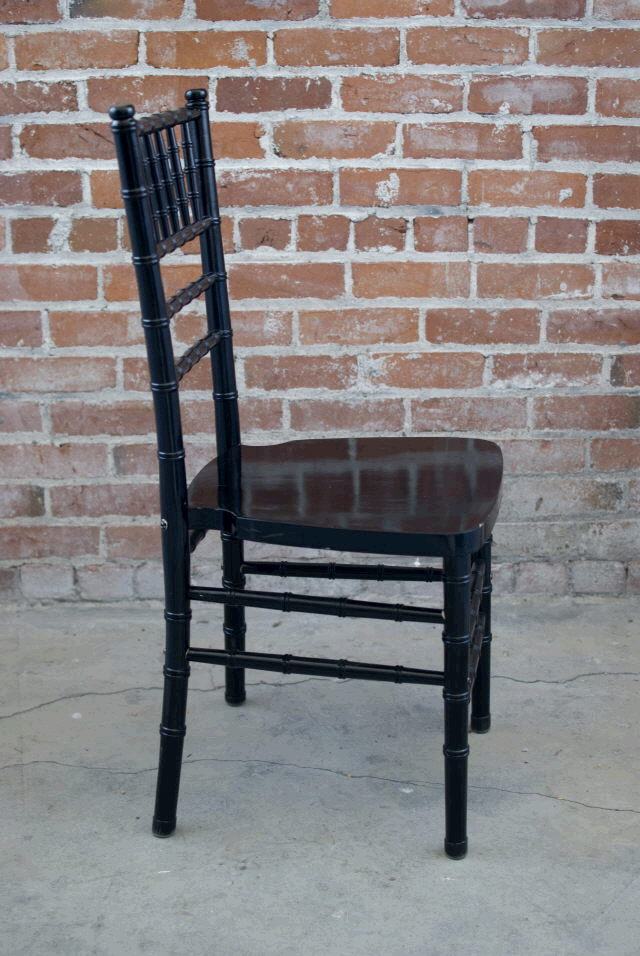 Where to find CHAIR CHIAVARI BLACK in Ft. Wayne