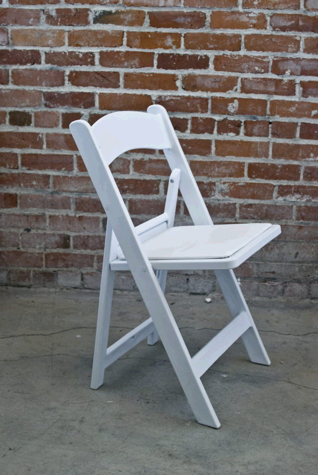 Chair White Wedding Poly Rentals Ft Wayne In Where To