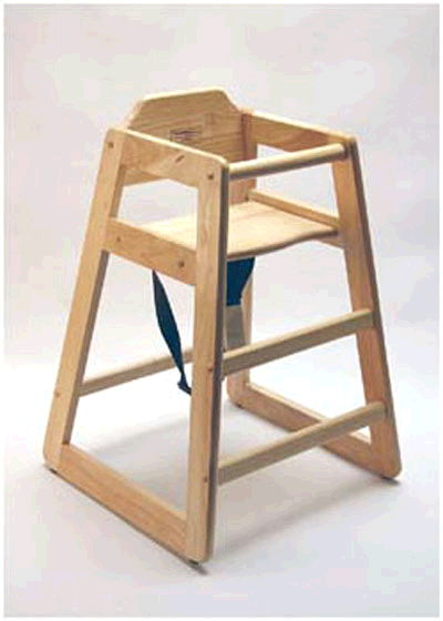 Where to find HIGHCHAIR WOOD STACKABLE in Ft. Wayne