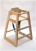 Rental store for HIGHCHAIR WOOD STACKABLE in Ft. Wayne IN