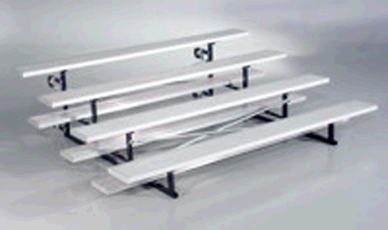 Where to find BLEACHER 15  4 ROW ALUMINUM in Ft. Wayne