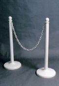 Rental store for CHAIN WHITE 10  for STANCHIONS in Ft. Wayne IN