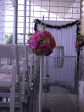 Rental store for STANCHION WHITE - SILVER WEDDING 42 in Ft. Wayne IN