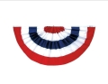 Rental store for BUNTING 3 x 6 FAN RED WHITE BLUE in Ft. Wayne IN