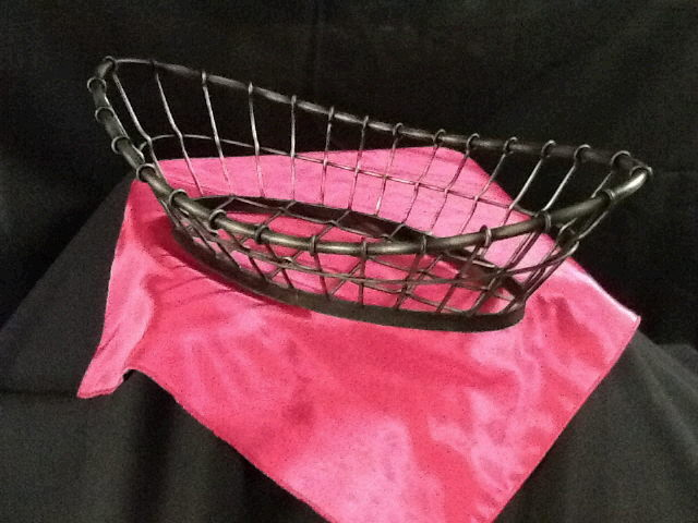 Where to find BASKET BLACK WIRE OVAL 9.5x18 in Ft. Wayne