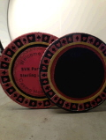 Rental store for PROP CASINO CHIP 30  BLACK or RED in Ft. Wayne IN