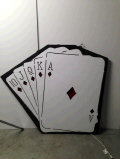 Rental store for PROP CASINO CARD HAND w LIGHT in Ft. Wayne IN