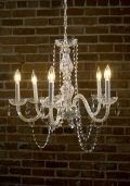 Rental store for Chandelier Murano Crystal in Ft. Wayne IN