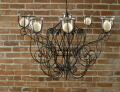 Rental store for Chandelier Black Scrollwork in Ft. Wayne IN