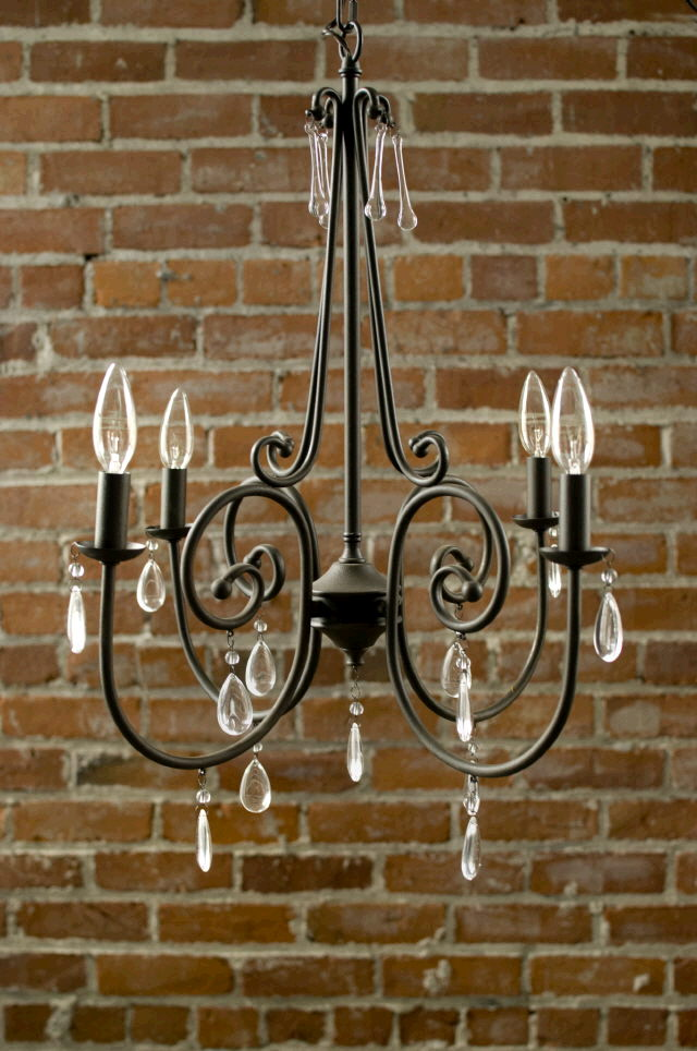 Where to find Chandelier French Wire 4 lite 24 in Ft. Wayne