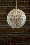 Rental store for Chandelier Crystal Orb 13 in Ft. Wayne IN