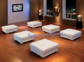 Rental store for LOUNGE OTTOMAN WHITE LEATHER 35 sq in Ft. Wayne IN