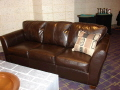 Rental store for LOUNGE COUCH BROWN LEATHER 85 in Ft. Wayne IN