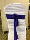 Rental store for CHAIRTIE DAZZLE PURPLE 6 x 105 in Ft. Wayne IN