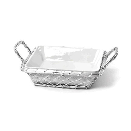 Where to find BOWL WHITE SQUARE 10x2.5  TALL in Ft. Wayne
