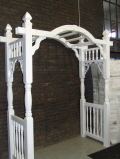 Rental store for Arch White Arbor 66 x 84  Tall in Ft. Wayne IN