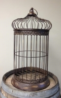 Rental store for CARD HOLDER BIRD CAGE METAL BROWN 30 in Ft. Wayne IN