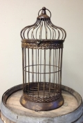Rental store for CARD HOLDER BIRD CAGE METAL BROWN 25 in Ft. Wayne IN