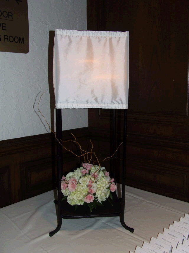 Where to find CENTERPIECE black frame w shade 36 T in Ft. Wayne
