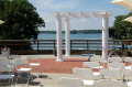 Rental store for PERGOLA w 4 WHITE COLUMNS in Ft. Wayne IN