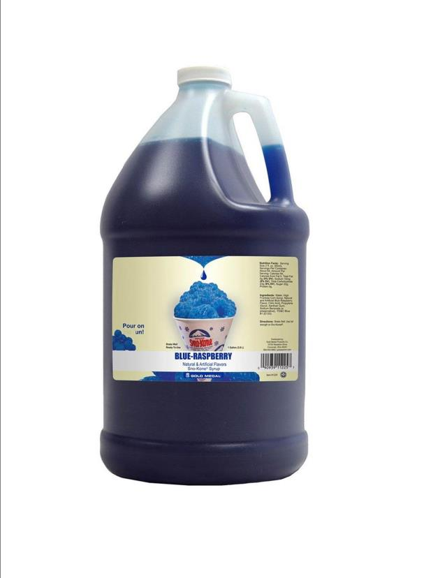 Where to find SYRUP BLUE RASPBERRY 1gal in Ft. Wayne