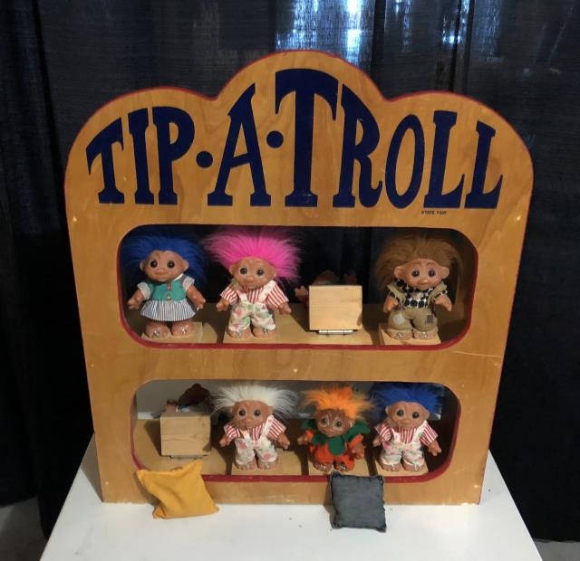 Where to find GAME TIP A TROLL KNOCKOVER 10x28x32t in Ft. Wayne