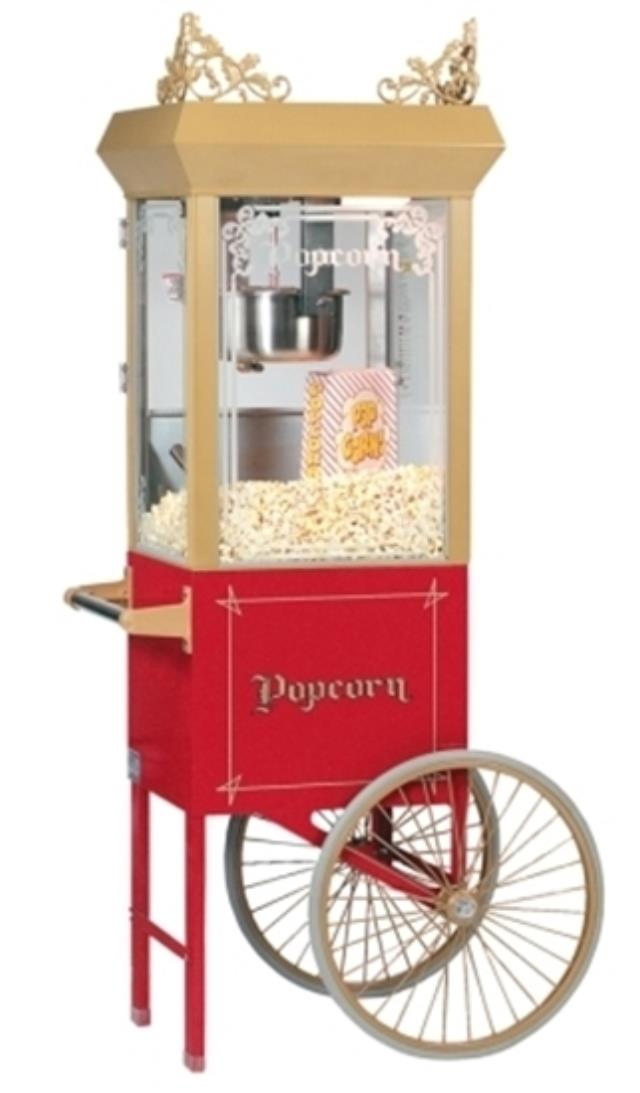 Where to find POPCORN 6 OZ GOLD w CART in Ft. Wayne