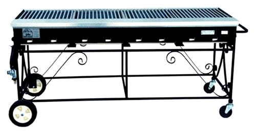 Where to find GRILL PROPANE 2  x 6  w HOOD in Ft. Wayne