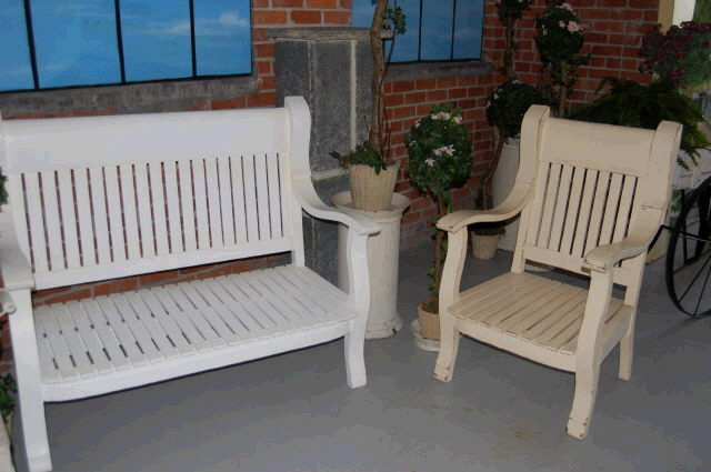 Where to find CHAIR LARGE WOODEN IVORY in Ft. Wayne