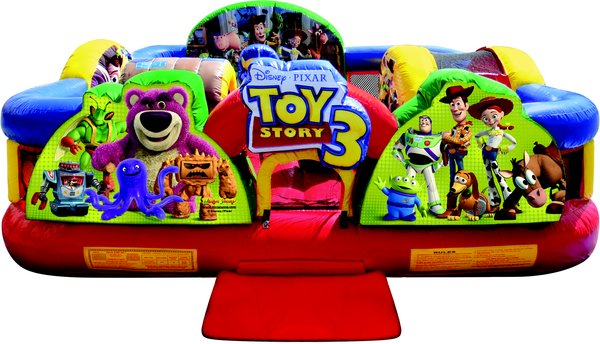 Where to find Moonwalk TOYSTORY 3 COMBO 14x16x6  TALL in Ft. Wayne