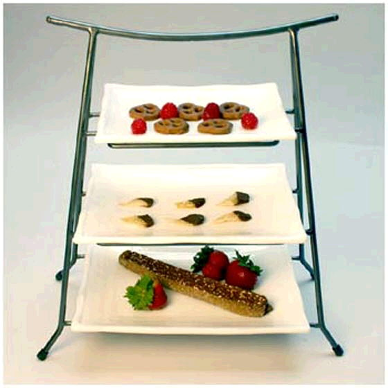 Where to find STAND 3 TIER w 3 SIZE TRAYS in Ft. Wayne