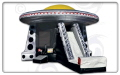 Rental store for Moonwalk UFO COMBO w SLIDE 25x36x20  T in Ft. Wayne IN