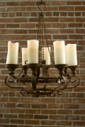 Rental store for Chandelier Rustic Iron 24x24x12 tall in Ft. Wayne IN