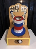Rental store for CRAZY HAT GAME 18 x 18 x 32  tall in Ft. Wayne IN