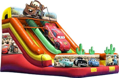 Where to find SLIDE DISNEY CARS DOUBLE LANE 27x19x21.3 in Ft. Wayne