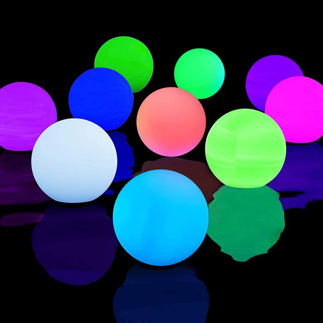 Where to find Light Ball Rainbow 9  w aa Battery in Ft. Wayne