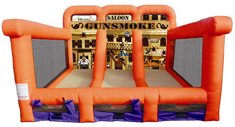 Where to find GUNSMOKE Shooting Gallery 19x21x15 tall in Ft. Wayne