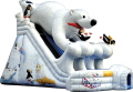 Rental store for ARCTIC PLUNGE SLIDE w BEAR 39x21x28 TALL in Ft. Wayne IN