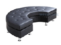 Rental store for Lounge Couch Half Curve Black 74 in Ft. Wayne IN