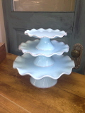 Rental store for CAKE STAND AQUA 3 pc pedestal in Ft. Wayne IN